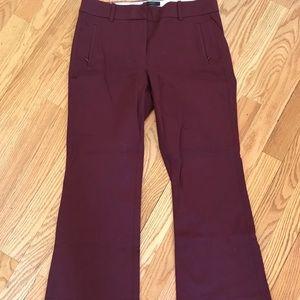 JCrew Pants Teddie Style Size 4